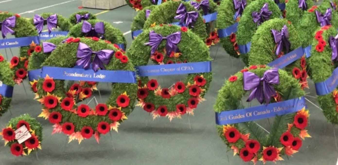 Edmonton Wreath Ribbons