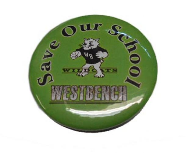Custom Buttons Pinback Westbench